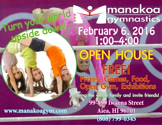 Manakoa Gym Open House